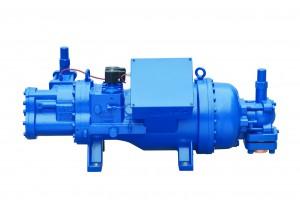 china  Screw Compressor factory supplier R22 R404A  R507A refrigeration freezing cold room