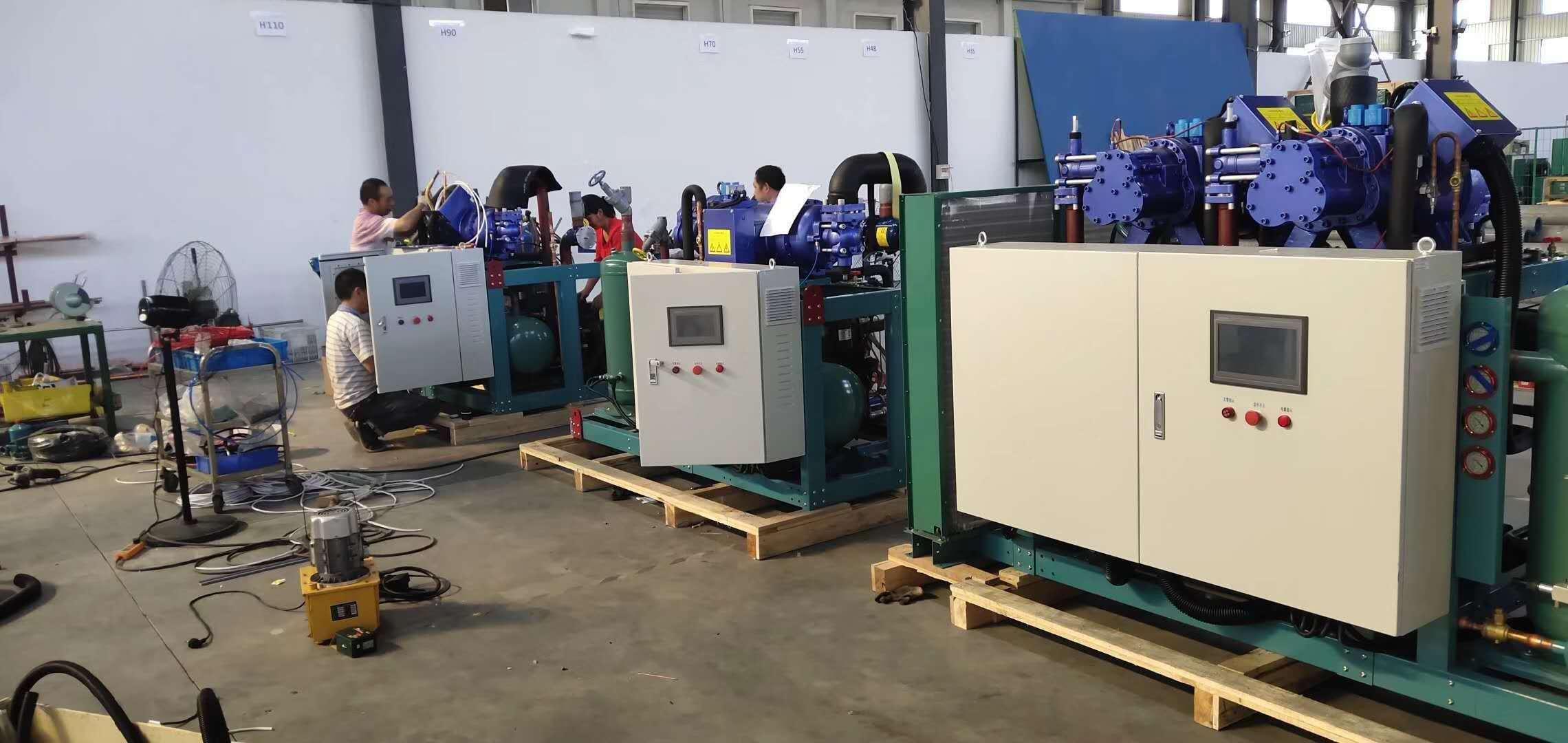 screw compressor condensing unit